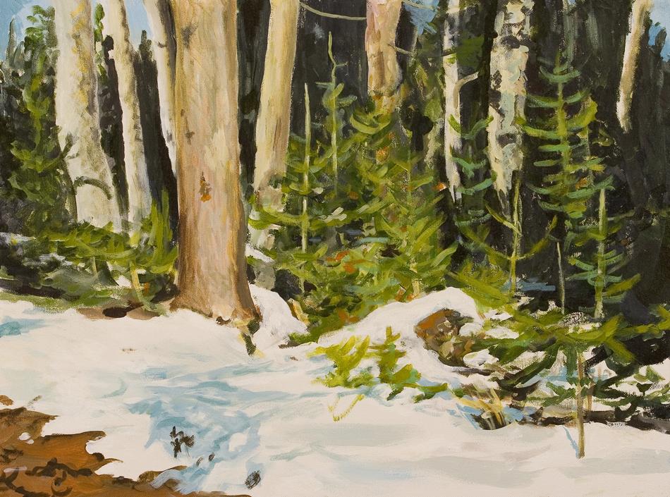 Winter Diptych (left)