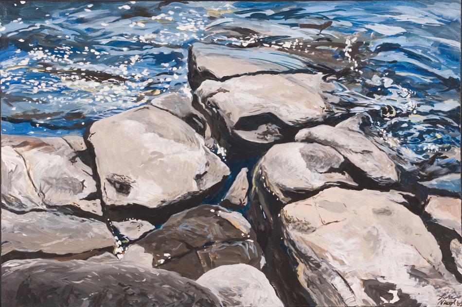 Silver Harbour Rocks & Water