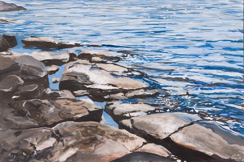 Silver Harbour Rocky Shore