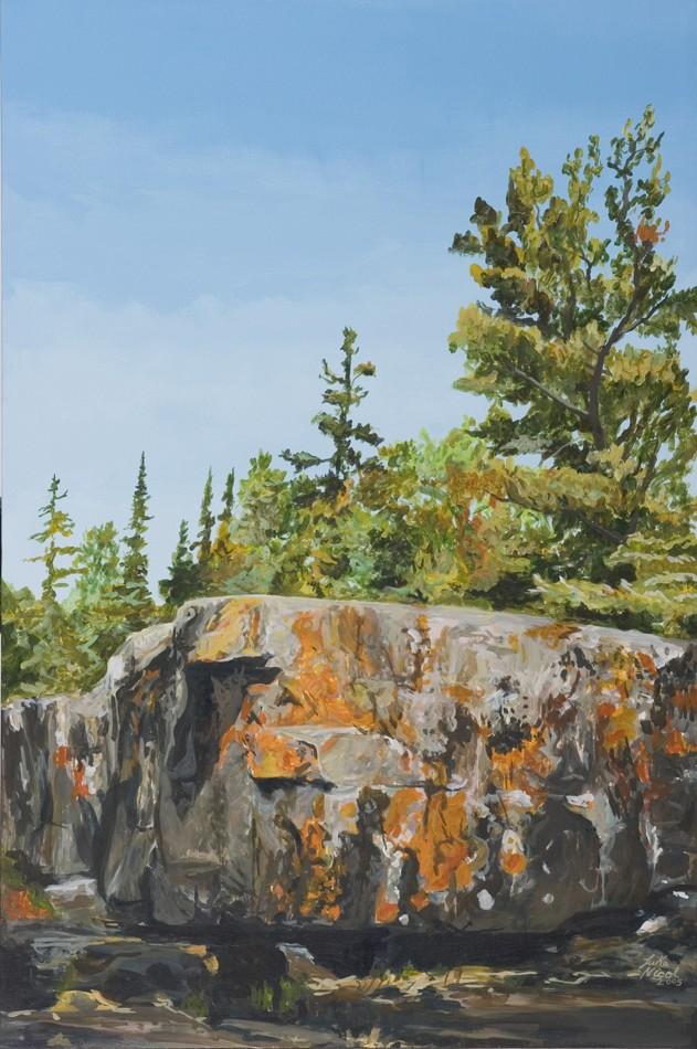 Orange Cliff