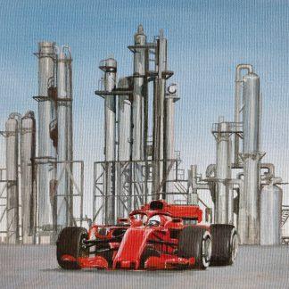 Race Car & Fuel Facility